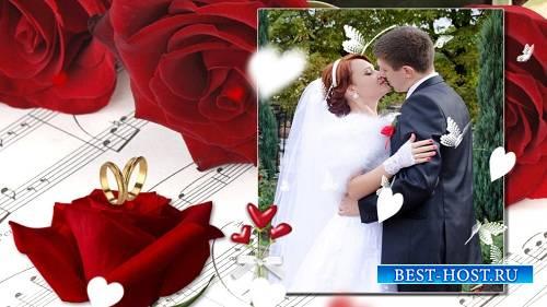 Свадебный розовый - Проект ProShow Producer