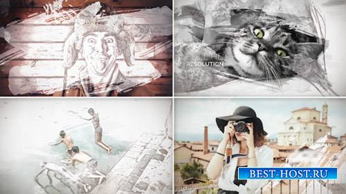 Окрашенные Слайдшоу - Project for After Effects (Videohive)