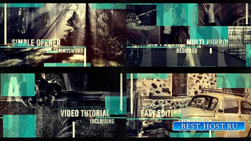 Простая Открывалка 16311480 - Project for After Effects (Videohive)