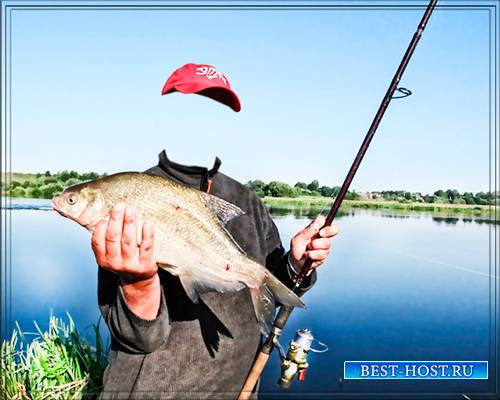 Psd шаблон - Рыба на уху