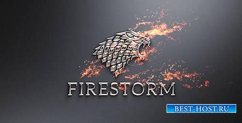 Пламя И Металл Логотип / Огонь Откроет - Project for After Effects (Videohi ...