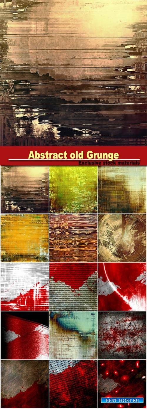 Abstract backgrounds old Grunge