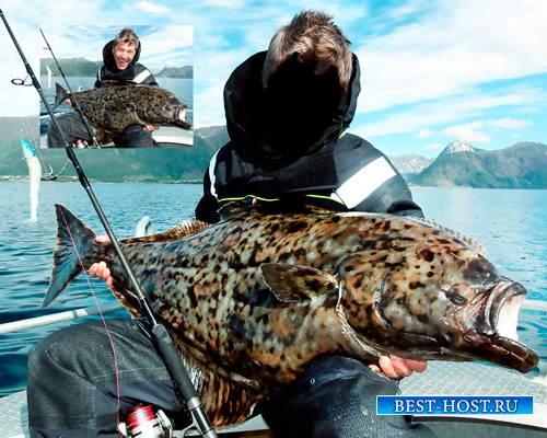 Фотошаблон - Сезон моей рыбалки