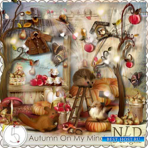 Осенний скрап-набор - Осень на мой взгляд
