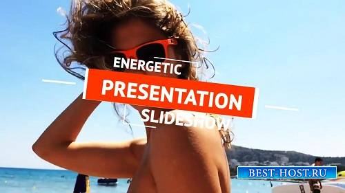 Энергичный слайд-шоу - After Effects Шаблон