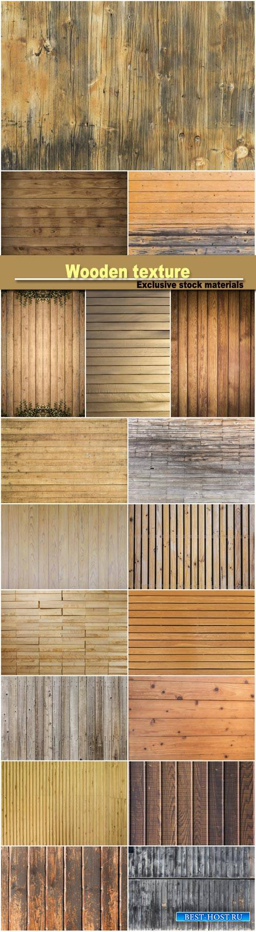 Wooden texture, background #4