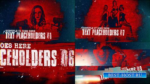 Трейлер Действия 17317222 - Project for After Effects (Videohive)
