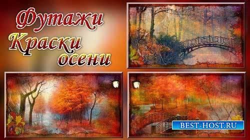 Футажи - Осеннние краски