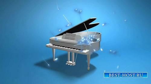 Музыкальный футаж - Рояль