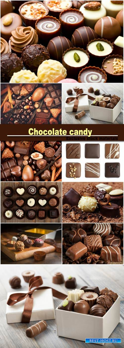 Chocolate and chocolate candy