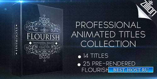 Коллекция Процветать Названия - Project for After Effects (Videohive)