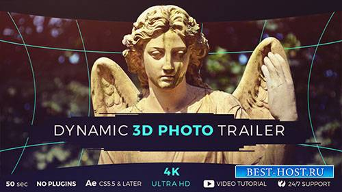 Динамические 3D фото - Project for After Effects (Videohive)