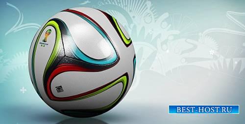 Футбольный мяч фон - Графическое движение Видо