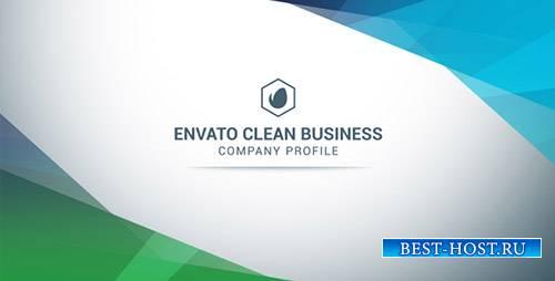 Чистый Бизнес-Профиль Компании - Project for After Effects (Videohive)