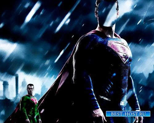 Мужской шаблон - Суперсильный супермен