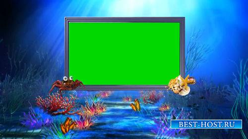 Футаж на хромакее - Подводный мир
