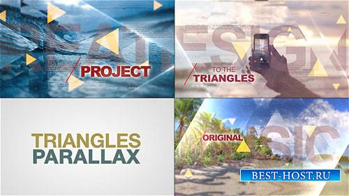Мир треугольников параллакса - Project for After Effects (Videohive)
