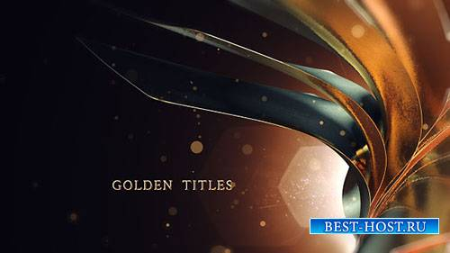 Золотые Титулы 17915387 - Project for After Effects (Videohive)