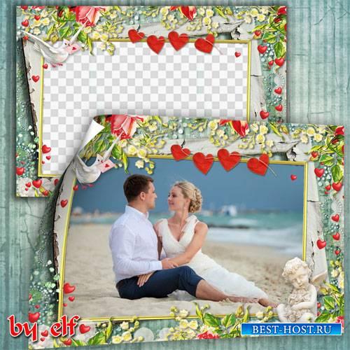 Романтическая винтажная рамка - Восхитительные моменты