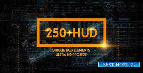 250 ХУД ФАНТАСТИКА - Project for After Effects (Videohive)