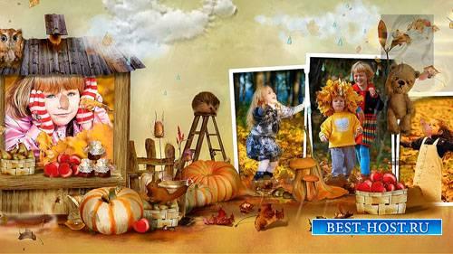 Детский осенний проект-альбом для ProShow Producer - Осень на даче