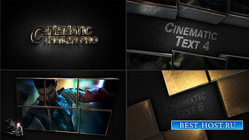 Кинематографический Трейлер Про - Project for After Effects (Videohive)