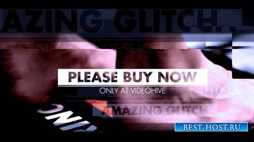 Удивительный Глюк - Project for After Effects (Videohive)