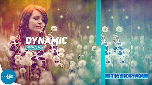 Динамическая Открывалка17757277 - Project for After Effects (Videohive)