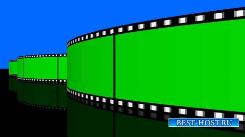 Видео футаж с кинолентой на хромакее