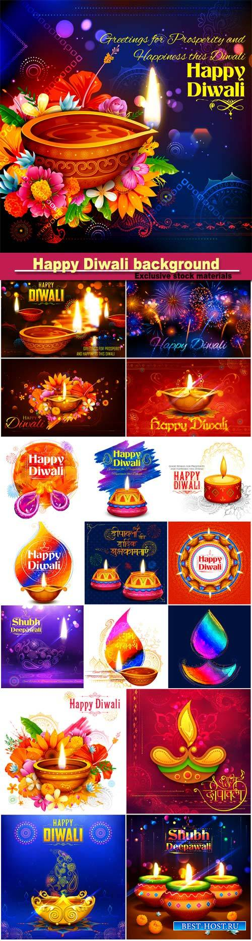 Happy Diwali background,  festival of India
