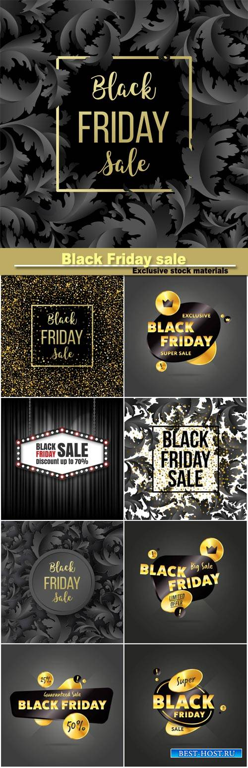 Black Friday sale, discount card