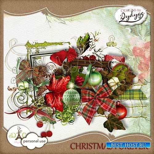 Новогодний скрап-набор - Christmas Forever