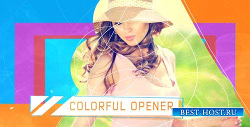 Красочные Открывалка 17727616 - Project for After Effects (Videohive)