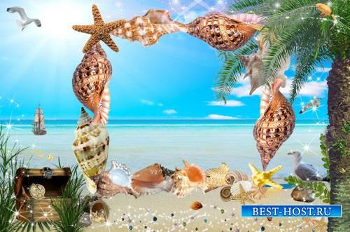 Морская рамка для фото - Сувениры с моря