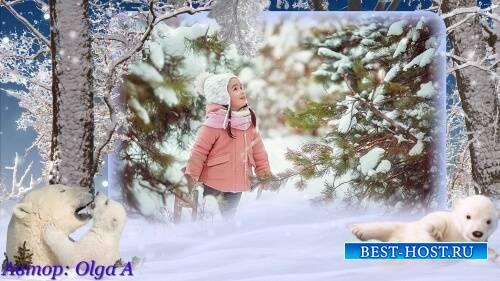 Проект для ProShow Producer - Зимняя история