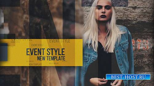 Стиль Мероприятия - After Effects Templates