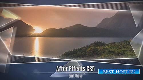 Стекло и рамка слайд-шоу - After Effects Templates