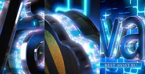 Неоновый логотип выявить с куб туннель - Project for After Effects (Videohi ...