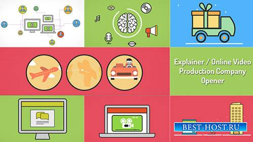 Explainer Video Production Opener - Project for After Effects (Videohive)