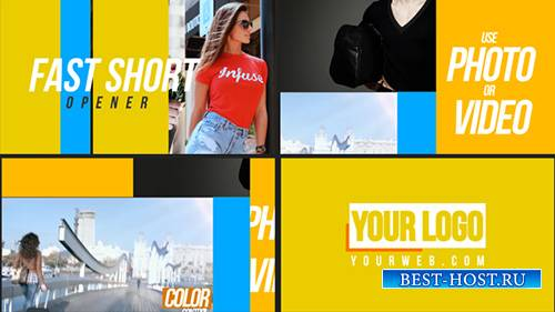 Быстрое вступление - Project for After Effects (Videohive)