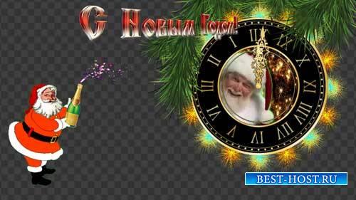 Футажи новогодние - Встречайте Новый год