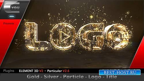 Золото Серебро Название Логотип Частиц - Project for After Effects (Videohi ...
