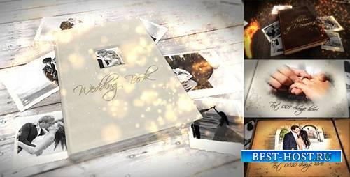 Альбом воспоминаний и свадебная книга расслоения 9870328