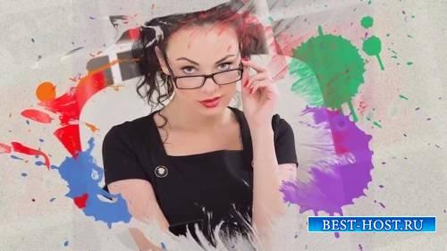 Красочные чернила слайд-шоу - Проект ProShow Producer