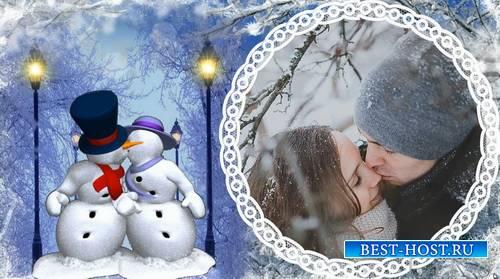 Зимний проект для ProShow Producer - Белая зима