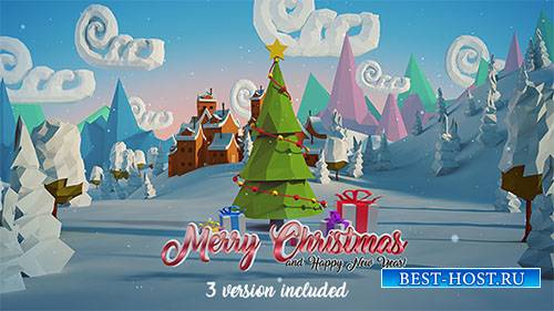Рождество И Новый Год Логотип  18833080 - Project for After Effects (Videoh ...