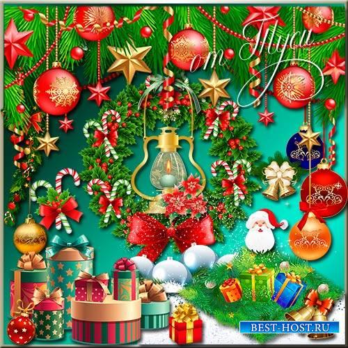 Рождественские подарки - Клипарт