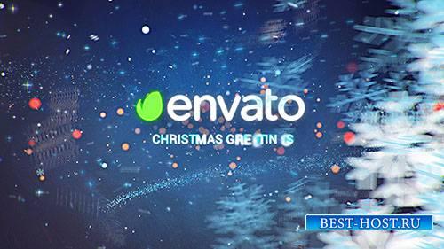 Рождественские Пожелания - Зима начало - Project for After Effects (Videohi ...