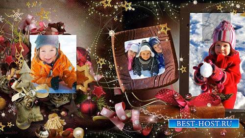 Новогодний проект-альбом для ProShow Producer - Рождественские сказки