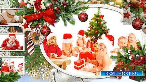 Новогодний проект-альбом для ProShow Producer - С веселым Рождеством!